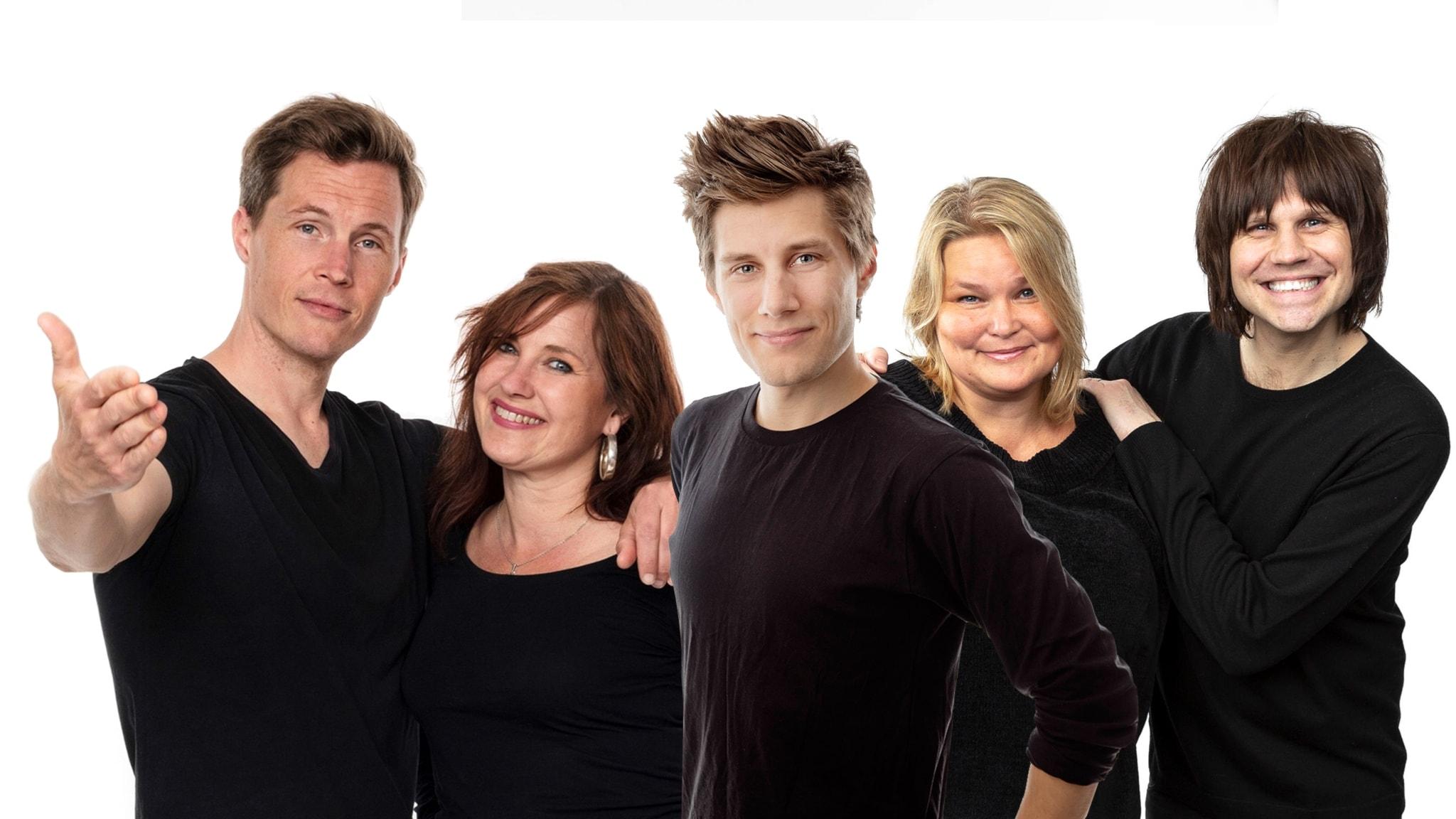 Med Wivianne Svedberg och Peter Sundberg
